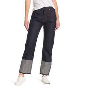 Rag & Bone Nihon Japanese Selvedge Boyfriend Jeans